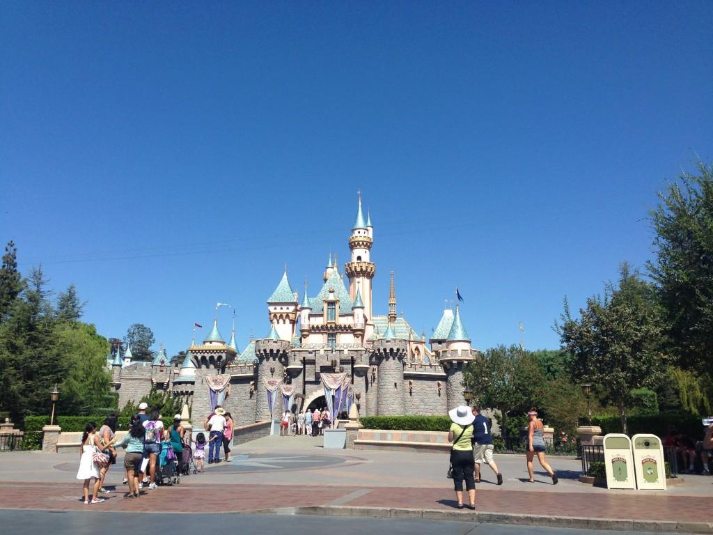 Disneyland Castle // justalittlebitlouder