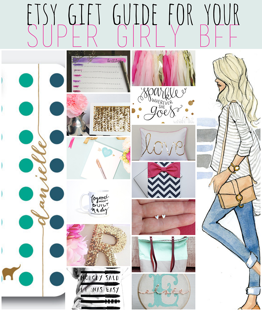 Etsy Gift Guide For Your Super Girly Best Friends Stephanieorefice Net