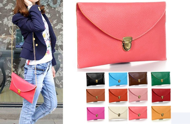 Candy Color Clutch on GroopDealz