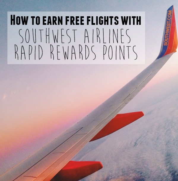 · If you want to earn Rapid Rewards points quickly, you can use credit cards, you can take advantage of promotions and offers from Southwest both online and in-flight, you can even get a bump in your earnings by actually taking paid flights!