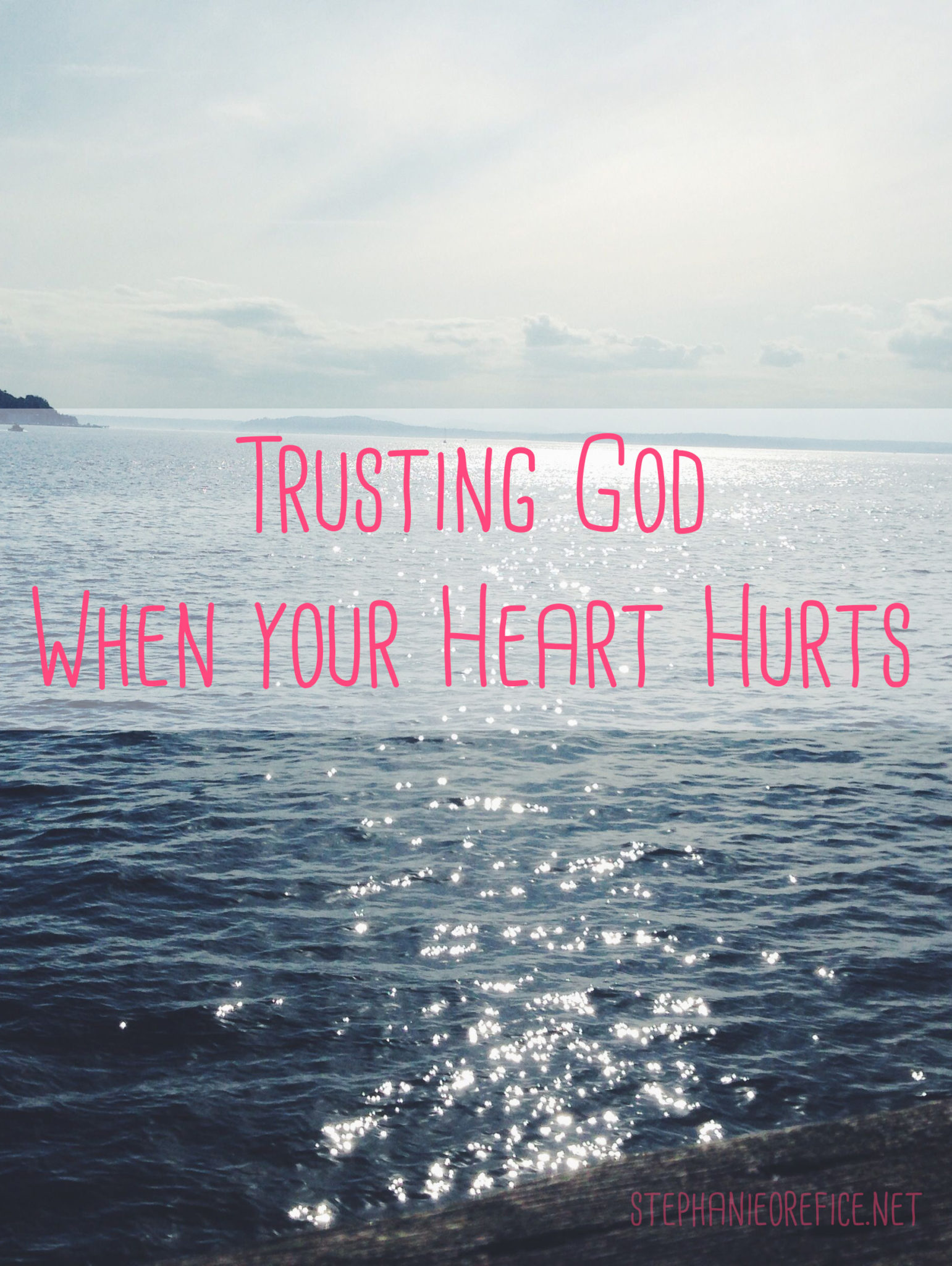 Asking god to heal your broken heart