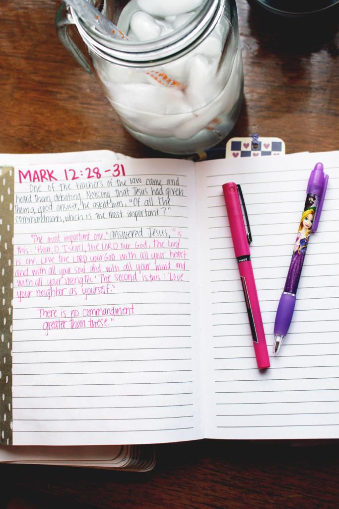 mark 12:28-31 // stephanieorefice.net