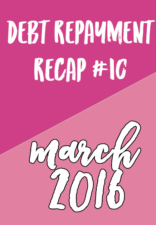 march debt repayment // stephanieorefice.net
