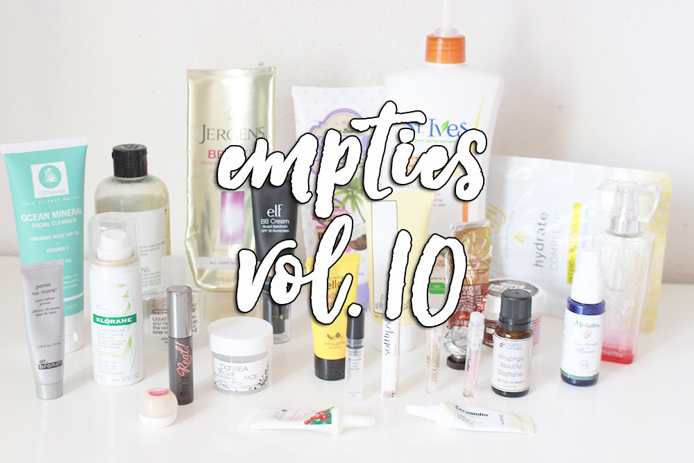 empties v10 // stephanieorefice.net