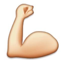strong arm emoji // stephanieorefice.net